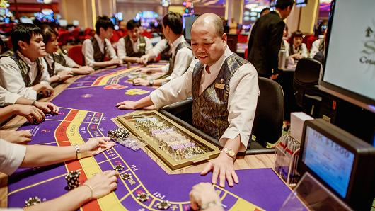 Macau's June gaming revenue expected to surge as much as 33 percent on easy comps