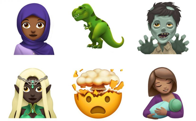 "Apple continues its trend of inclusive emoji with ""woman in headscarf,"" ""breastfeeding,"" and more"