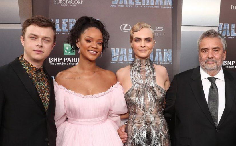 Luc Besson Talks 'Avatar' Inspiration at 'Valerian' Premiere
